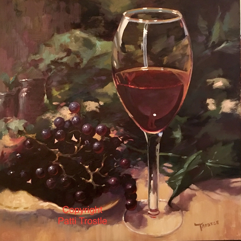 Valentines day gift ideas Wall art wine collector Wine lover image 0
