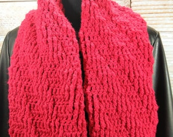 Textured Scarf - Chunky Scarf - Winter Scarf - Warm Scarf - Thick Scarf