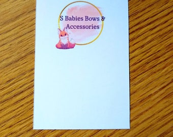 """Product Cards - Bow Cards - Earring Cards - 2.5"""" x 3.5"""" cards"""