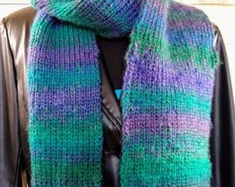 Ribbed Scarf - Dragonfly - Soft Scarf - Warm Scarf - Winter scarf