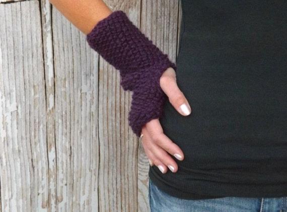 Knitting Pattern The Serenity Fingerless Gloves Pattern Etsy