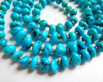 Turquoise Nugget Necklace (Item X 22)