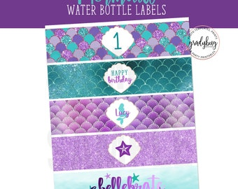 Water Bottle Labels Etsy