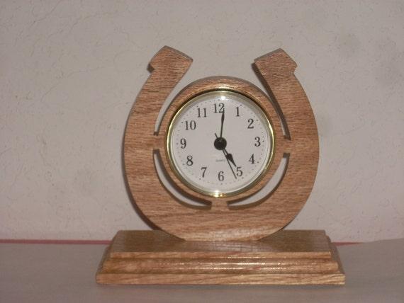 Horloge Fer /à Cheval