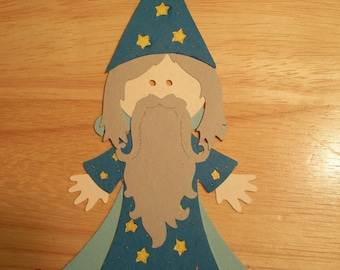 wizard paper doll
