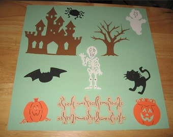 10 Halloween diecuts-cricut