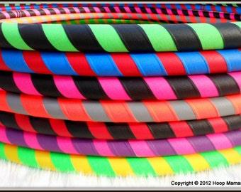 The ULTRAGRIP - Design Your Own 2 Color Travel Starter / Budget Hula Hoop - BeSt SeLeCtioN of CoLoRs ONLINE & Over 30,000 Hoops sold!