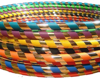 Budget Travel Hoop - A Hoop Mamas Signature Hoop since 2008!  Choose YOUR Size, Tubing & Favorite Accent Color!