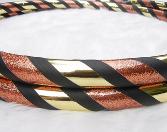 Gorgeous Custom Travel Hoop 'Black Gold'- Made YOUR Size. Hand-made Since '07.