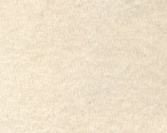 Fleece, organic cotton 10 yds