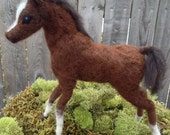 Items Similar To Needle Felted Baby Horse Foal On Etsy