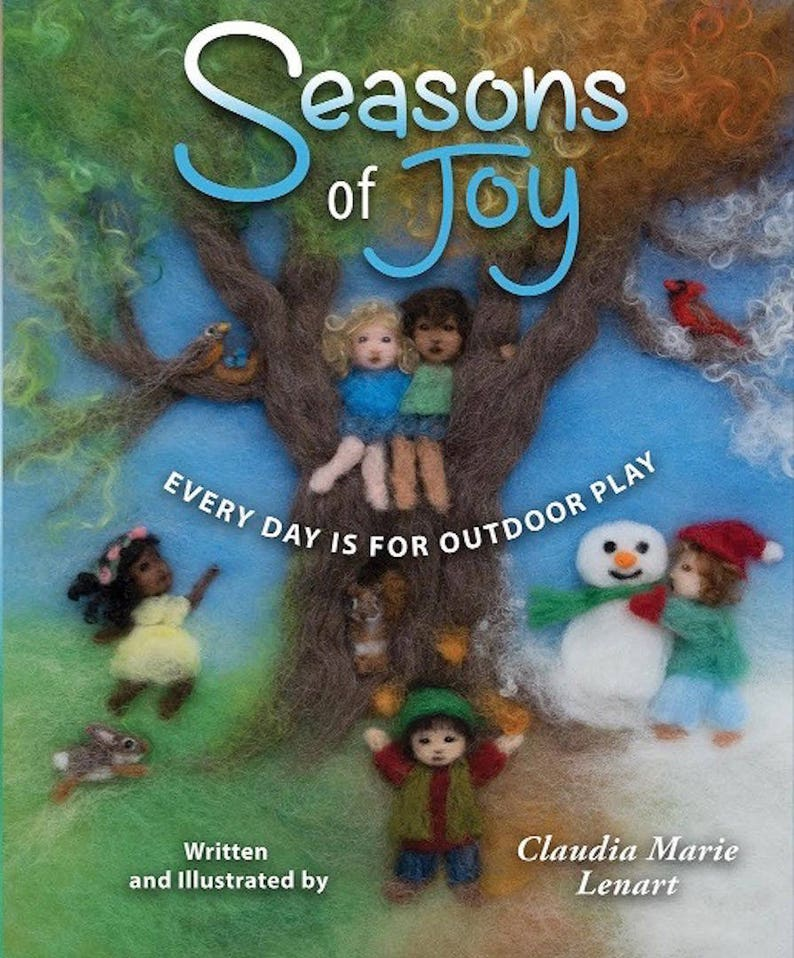Seasons of Joy: Everyday is for Outdoor Play Signed by Author/ image 0
