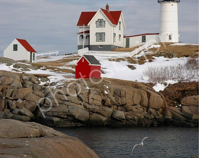 Nubble Light, or Cape Neddick Light - 8x10 signed and numbered original photograph