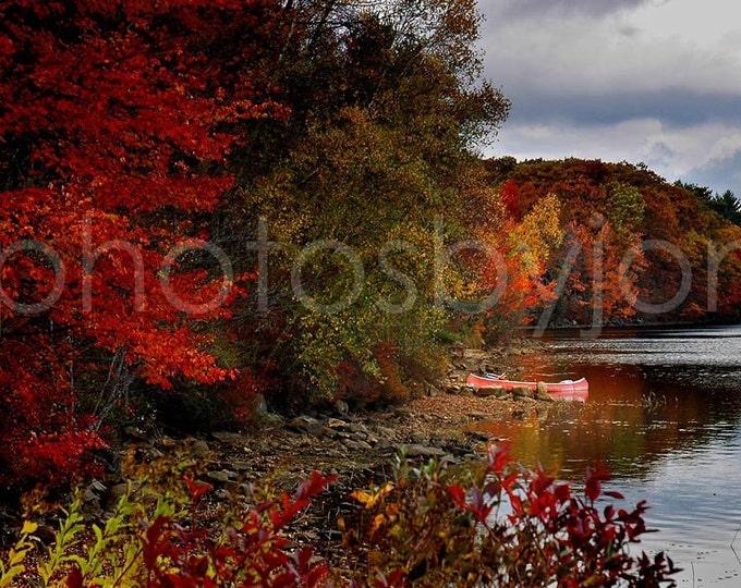 Hideaway - 8 x 12 signed original photograph - New Hampshire Landscape