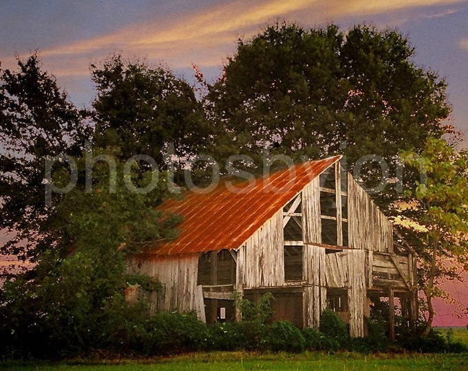 The Old Lowdermilk Barn - 8x10 signed and numbered original photograph