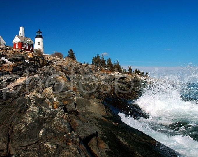 Pemaquid Point Lighthouse, Maine -  Fine Art, signed original photograph