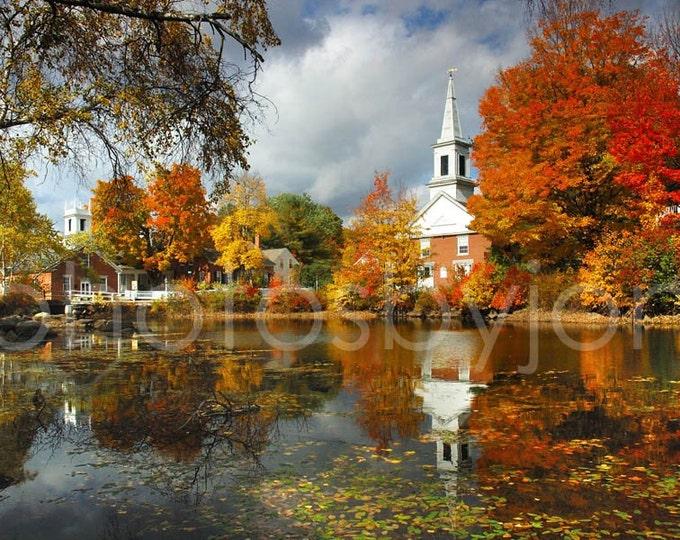 Harrisville - signed original photograph - New Hampshire Landscape, Award Winner