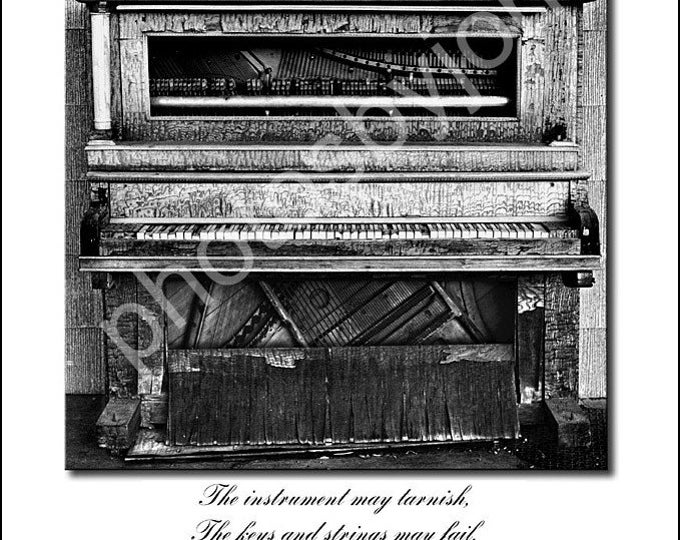 Music is Forever - 12 x 16 poster style photographic print