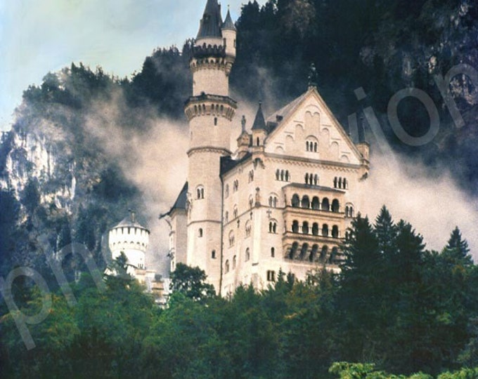 Fantasy Castle - 8x10 digital photograph signed by artist
