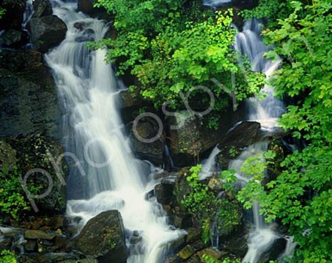 Falls at Bent Run Creek - 8x12 signed and numbered original photograph, waterfall