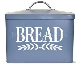 Bread Box Decal, vinyl sticker, bread label, bread box storage decal