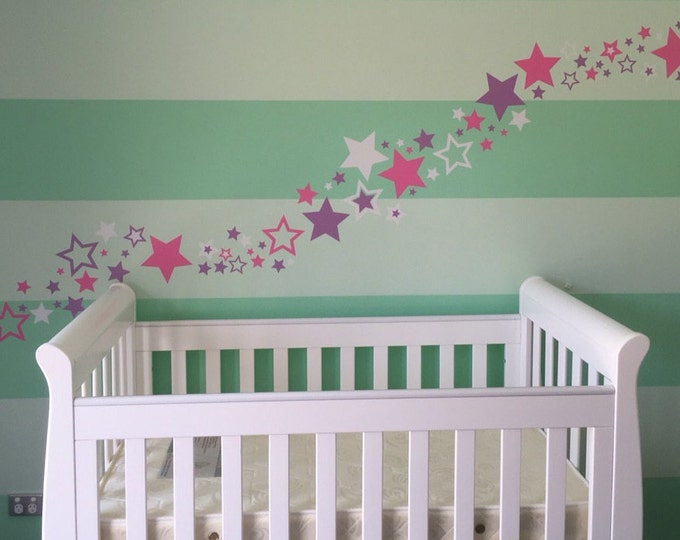 Star Wall Decals - various sizes