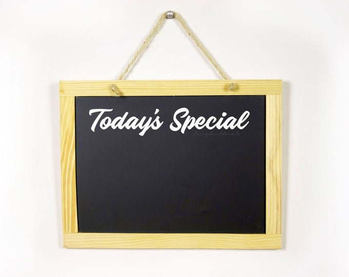 Teacher classroom decal, Todays Special vinyl lettering, white board decal, back to school, menu board