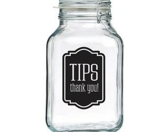 Tip Jar Etsy
