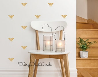 Honey Bee wall decals, free shipping