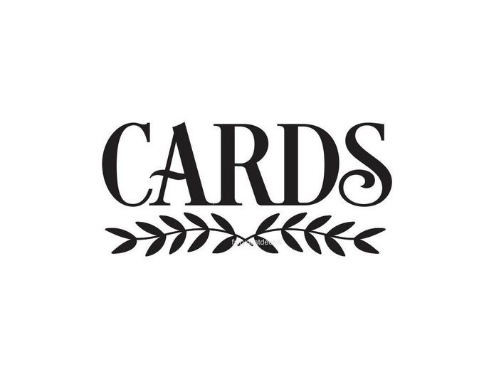 Cards Decal