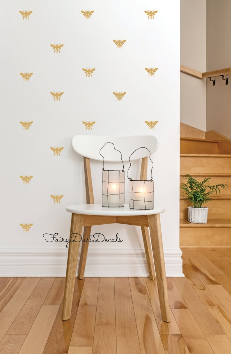 free shipping Honey Bee wall decals