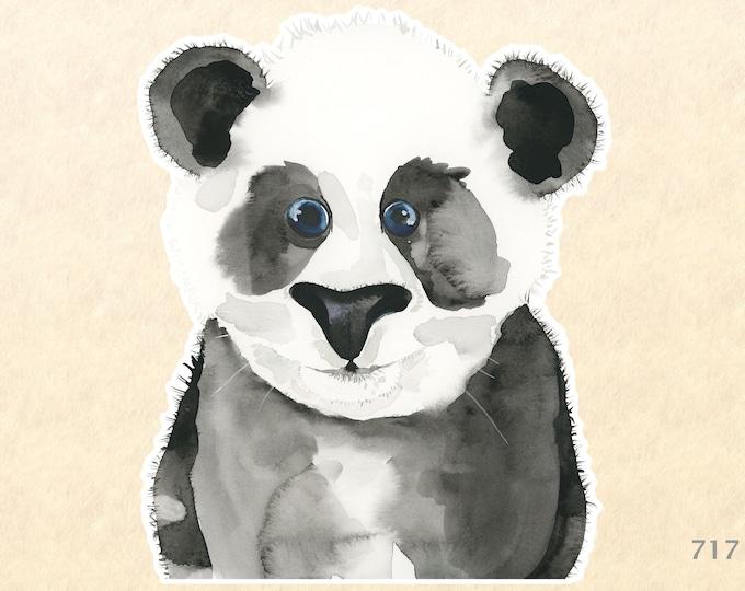 Baby Panda Sticker Panda Bear Sticker Cute Animal Sticker Panda Cub Wildlife Sticker Laptop Water Bottle Scrapbooking