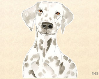 Dog Stickers, Dalmatian Stickers, Animal Stickers, Laptop Stickers, Water Bottle Stickers, Scrapbook Stickers, Macbook Decal