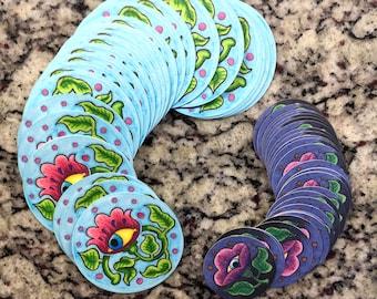 Eye Flower Stickers