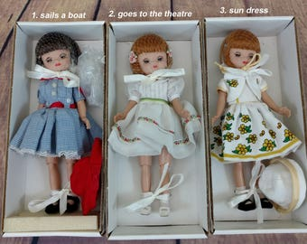 """Betsy McCall dolls 8"""" with box"""