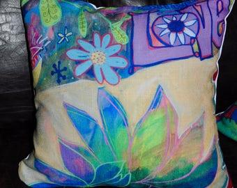Share Love Pillow