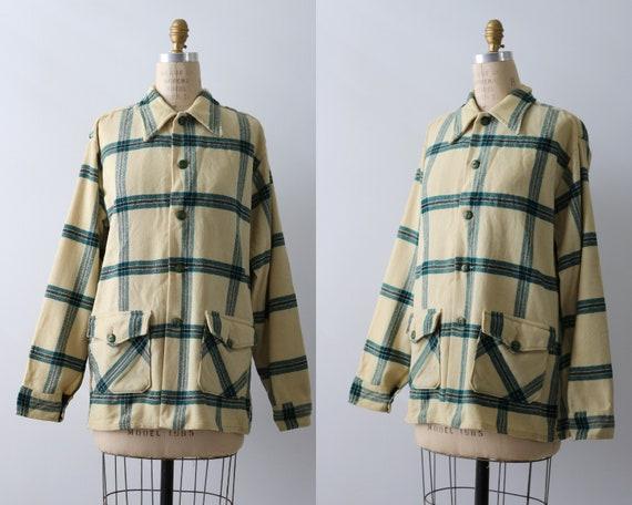1940s Workwear Ranchwear Womens Blouse Top Jacket