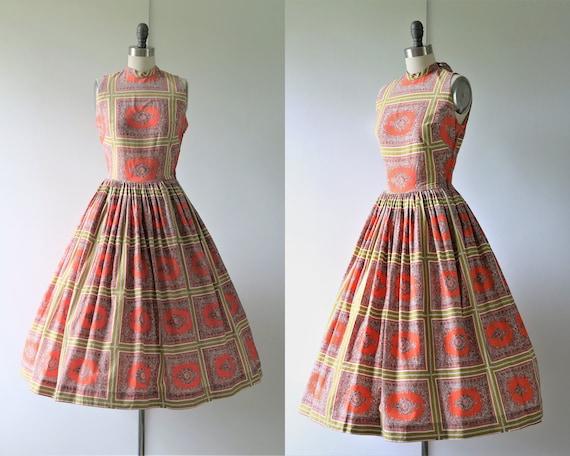 1950s Novelty Cotton Dress Youth Guild of NY