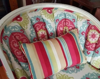 Beautifully restored antique chaise lounge from 1800's.