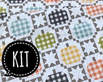 SALE - Quilt Kit - Autumnal Quilt - Corey Yoder - Coriander Quilts - Cozy Up - Moda Fabric