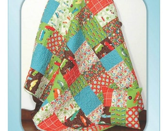 SUMMER PATTERN SALE - Little Buddy Quilt and Pillow pattern by Carlene Westberg
