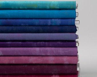 SALE -  Fat Quarters (10) - Grunge Cool Change - BasicGrey - Moda Fabric