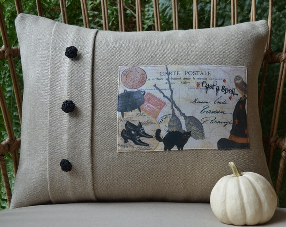 Cast A Spell Halloween Pillow