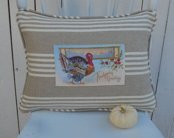 Thanksgiving Greetings Pillow