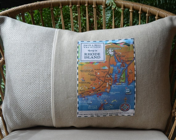 Romp in Rhode Island Pillow (available in 3 styles and 2 sizes)