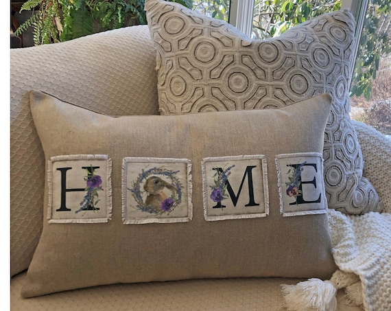 Spring HOME Belgian Linen Pillow