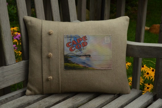 Souvenir Views of Cape Cod Pillow
