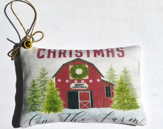 Christmas Barn Balsam Sachet