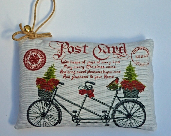 Balsam Fir Sachet-Tandem Bicycle