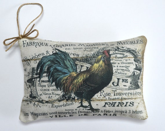 French Rooster Lavender Sachet